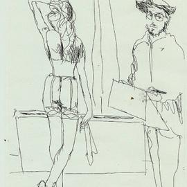 Degas Sketching Model