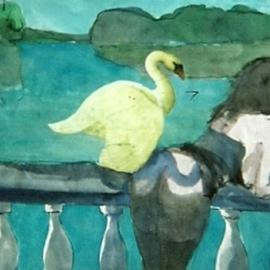 Myth Contemporary Leda and Swan 5