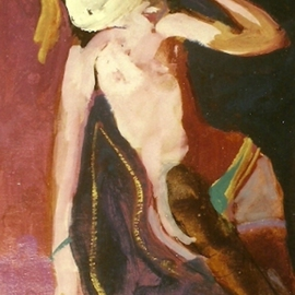 Nude With White Hat