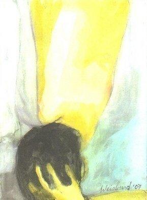 Artist: Harry Weisburd - Title: OPEN BLOUSE - Medium: Watercolor - Year: 2007