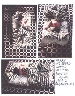 Harry Weisburd Sleepingwoman 2001