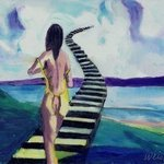 Stairway To Heaven 111 By Harry Weisburd