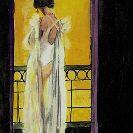 The White Gown  By Harry Weisburd