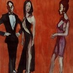 Two  Women and a Man  By Harry Weisburd
