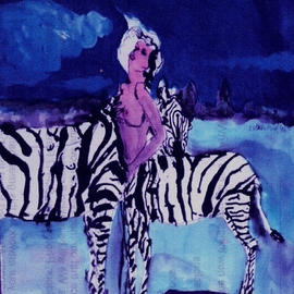Zebra Woman  By Harry Weisburd