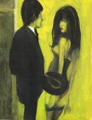 Artist: Harry Weisburd - Title:  HOW MUCH  - Medium: Watercolor - Year: 2006