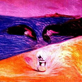 face of spirit homage dali  By Harry Weisburd