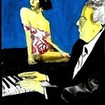 pianist and muse By Harry Weisburd