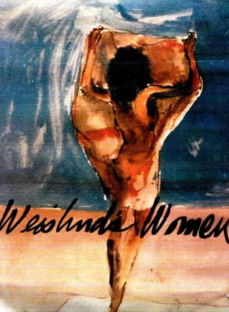 Harry Weisburd  'Woman On The Beach 2 Poster', created in 2008, Original Pottery.