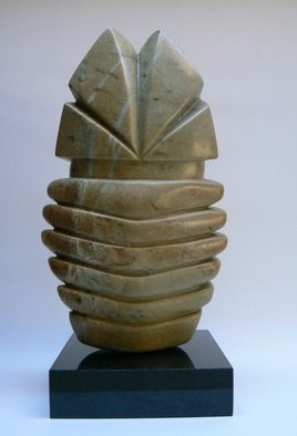 Pim Van Der Wel: 'Fiesta', 2007 Stone Sculpture, Abstract. Artist Description:    A sculpture of Brazilian softstone ...