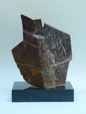 Pim Van Der Wel: 'Linea Ciocco', 2010 Stone Sculpture, Abstract. Artist Description:   A sculpture of Asian serpentine  ...