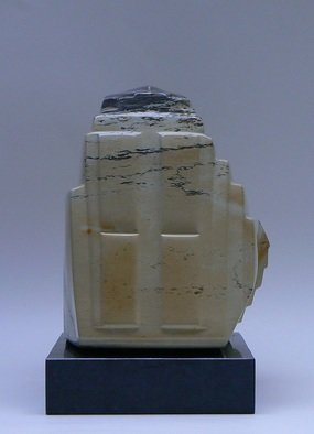 Pim Van Der Wel: 'Maya', 2009 Stone Sculpture, Abstract. Artist Description:  A sculpture of KIISI- stone ...