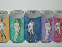 - artwork italycan-1187676225.jpg - 2005, Watercolor, Figurative
