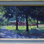 College Field, Eton By David Welsh