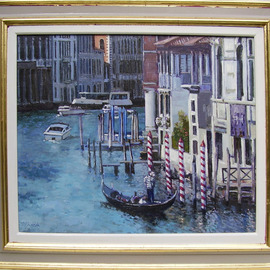 Grand Canal, Venice By David Welsh