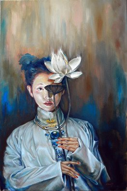 Wenli Liu: 'another life', 2016 Oil Painting, Figurative. Artist Description: Life is beautiful. We spouted, we blossomed, and we will dry out. It s a cycle, we don t get to live forever, but the power and beauty of life is forever. ...