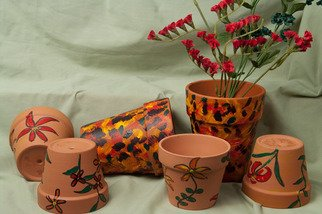 Undefined Medium by Louise Peacock titled: Pots for all uses 2, 2010