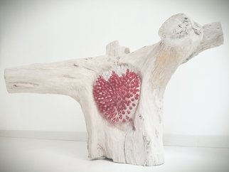 Federica Ripani Artwork CUORE DI FRAGOLA, 2014 Wood Sculpture, undecided