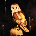 Der Owl, Gesso On Birch Panel, Edward Walton Wilcox