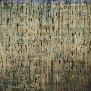 William Dick Artwork BOOGERD, 2002 Encaustic Painting, Abstract