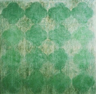 William Dick Artwork ELDRITCH, 2003 Encaustic Painting, Abstract