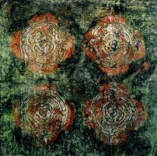William Dick Artwork FIFLOOER, 2003 Encaustic Painting, Abstract