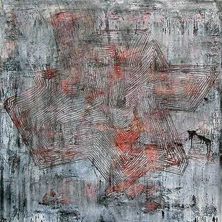 William Dick Artwork GLIMMER I, 2013 Encaustic Painting, Abstract