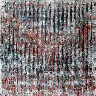William Dick Artwork INTERFERENCE I, 2013 Encaustic Painting, Abstract