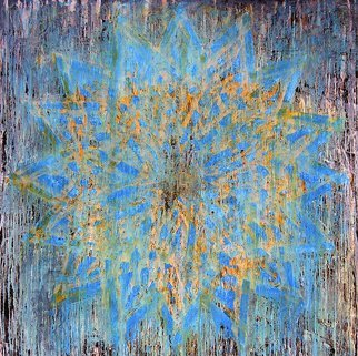 William Dick Artwork SPLYTER, 2010 Encaustic Painting, Abstract