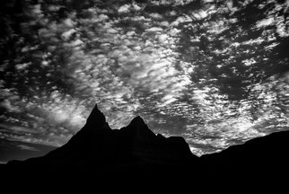 George Wilson Artwork Vulture Peak Sunrise, 2016 Black and White Photograph, Landscape