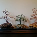 Beaded Wire Tree Bonsai, Ana Wezeman