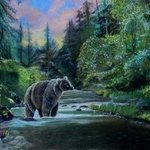 bear sunrise By Michaeline Mcdonald