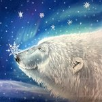 polar bear snowflakes By Michaeline Mcdonald