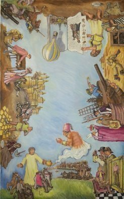 Wendy Lippincott Artwork Bibliocracy, 2011 Oil Painting, Education