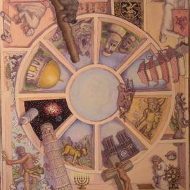 Wendy Lippincott Artwork Theocracy, 2005 Oil Painting, Religious