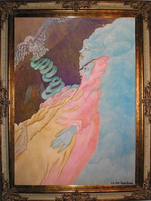Dana Wodak Artwork Healing, 1999 Oil Painting, Spiritual
