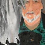 The Grey Stallion, Susan Snow  Voidets