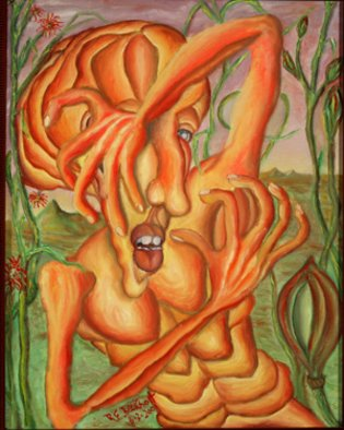 Artist: Richard Beckholt - Title: Phobia - Medium: Oil Painting - Year: 2005