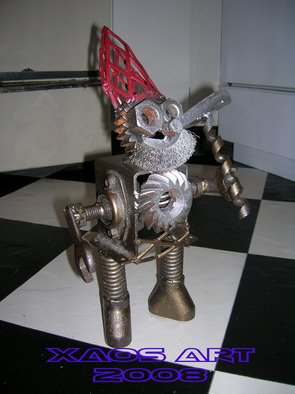 Jonathan Norrell: 'Smoking Gnome', 2008 Metalsmith, Undecided.