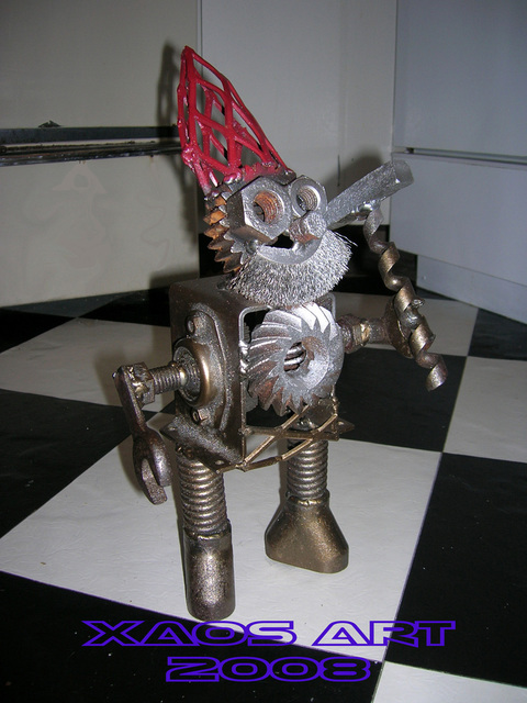 Jonathan Norrell  'Smoking Gnome', created in 2008, Original Metalsmith.