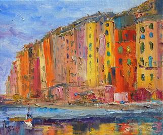 Artist: Xiaoyang Galas - Title: La joie - Medium: Oil Painting - Year: 2005