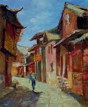 - artwork Memory_of_Lijiang-1051117019.jpg - 2003, Painting Oil, Figurative