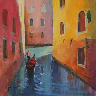 Artist: Xiaoyang Galas - Title: vers la lumiere - Medium: Acrylic Painting - Year: 2010