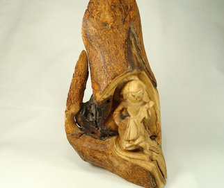 Kir Asariotis: 'mulberry', 2015 Wood Sculpture, Figurative. Artist Description:  mulberry girl    ...