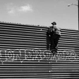 Yaki Yaskvloski: 'LOS MUROS Tijuana border', 2007 Black and White Photograph, Political. Artist Description:       DOCUMENTARY         ...