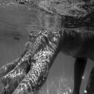 Yaki Yaskvloski: 'UNDERWATER', 2010 Black and White Photograph, nudes. Artist Description:    FINE ART NUDES            ...