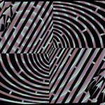 Maze of Tunnel Illusion Abstract By Yanito Freminoshi