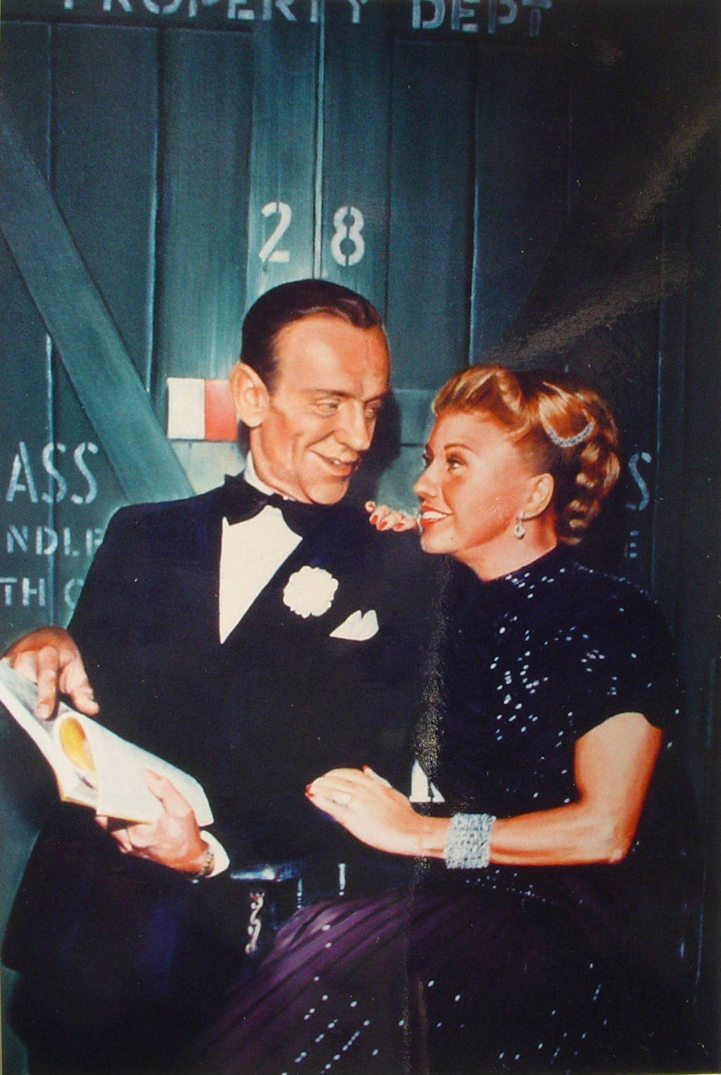 Portrait Of Fred Astaire And Ginger Rogers Oil Painting By Yordan Enchev Absolutearts Com