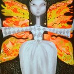 Mademoiselle butterfly By Yelena Dyumin