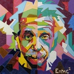 albert einstein By Yosef Reznikov